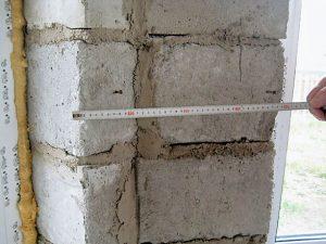 Экспертиза дефектов строительных блоков