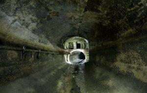 Обследование канализационной сети