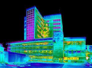 Тепловизионное обследование зданий и сооружений: возможности исследования