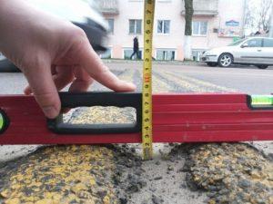 Экспертиза дорожного полотна Москва