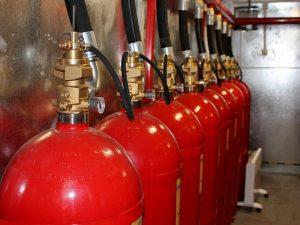 Обследование системы пожаротушения