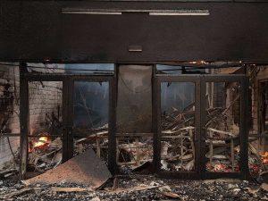 Обследование сооружений после пожара