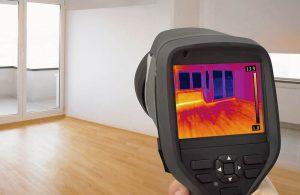 Обследование тепловизором квартиры