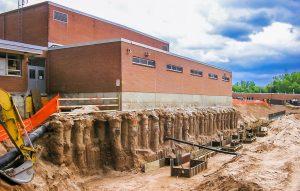 Обследование оснований и фундаментов зданий