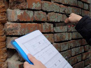 Обследование конструкций здания