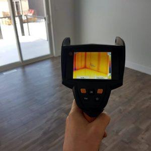 Проведение тепловизионного обследования зданий