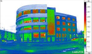 Тепловизионное обследование ограждающей конструкции