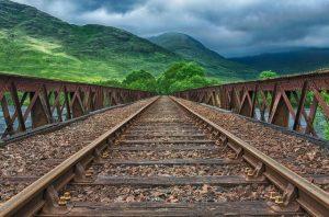 Обследование мостовых сооружений на железных дорогах