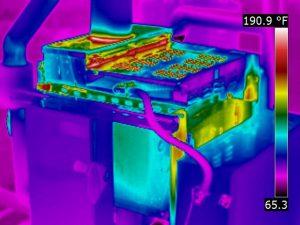 Тепловизионное обследование электроустановок