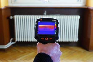 Тепловизионное обследование жилого дома